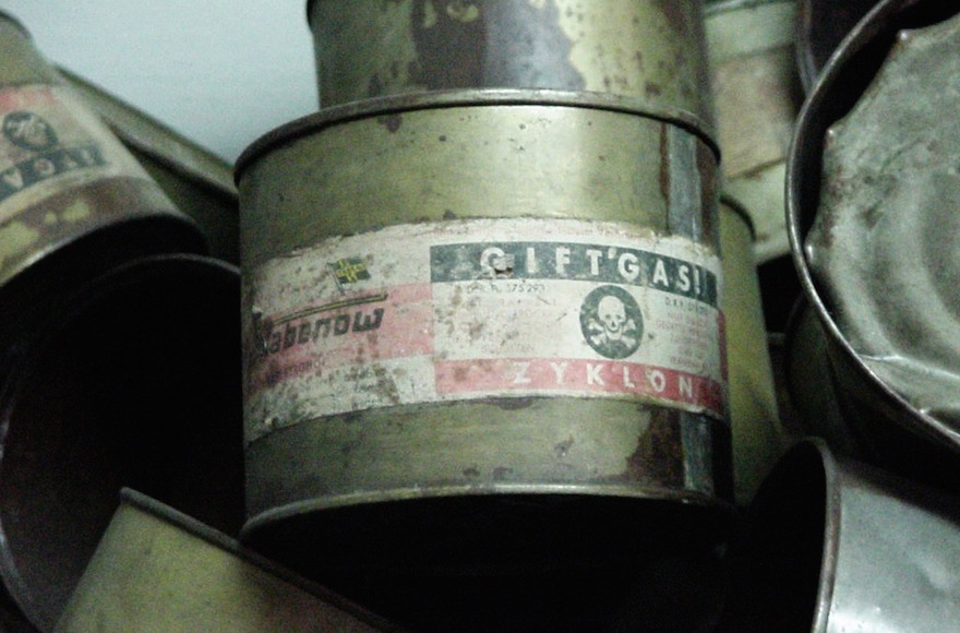 Zyklon B container (Michael Hanke/ Wikimedia Commons, CC BY-SA 3.0)