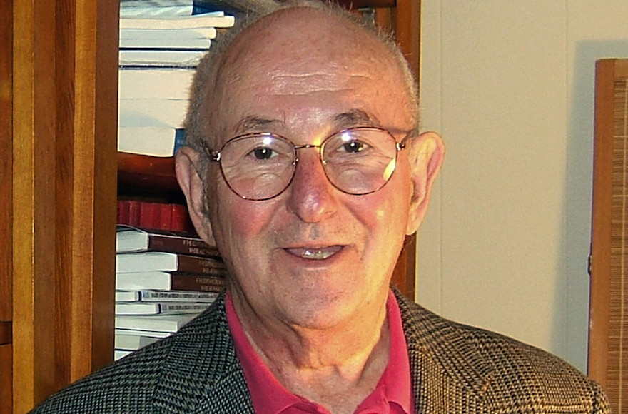 Jacob Neusner, who died Oct. 8, 2016 at age 84, served on the faculties of Bard College, Dartmouth College, Brown University, the University of South Florida and the University of Frankfurt, among others. (Emily Darrow/Bard College)