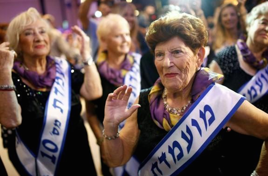 Holocaust survivors beauty pageant