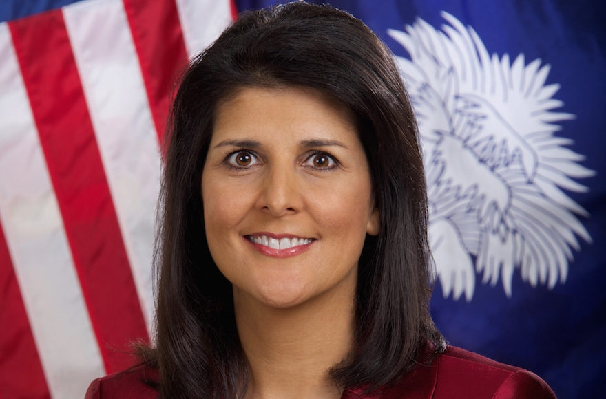 South Carolina Governor Nikki Haley (Public Domain)