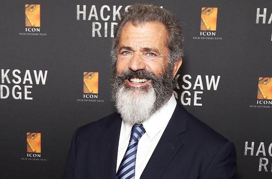 "Mel Gibson arriving ahead of the Australian premiere of ""Hacksaw Ridge"" in Sydney, Australia, Oct. 16, 2016. (Brendon Thorne/Getty Images)"
