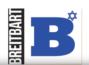 Breitbart Jerusalem logo (Screenshot from YouTube)