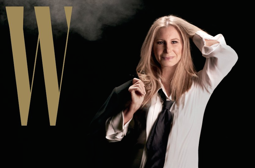 Barbra Streisand W Magazine