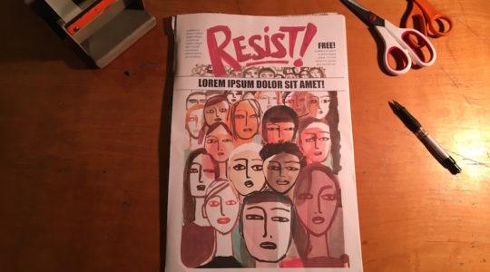 Resist comic