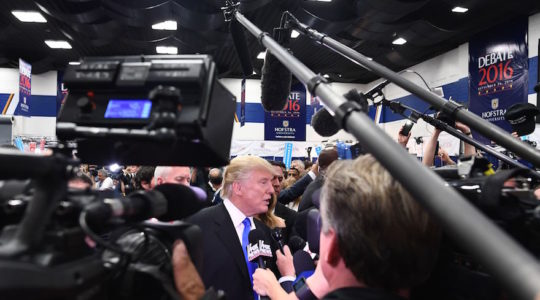 Trump reporters