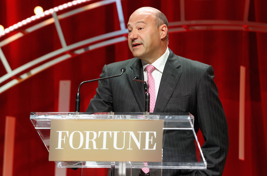Gary Cohn speaking onstage during Fortune's Most Powerful Women Summit - Day 2 at the Mandarin Oriental Hotel in Washington, D.C., Oct. 13, 2015. (Paul Morigi/Getty Images for Fortune/Time Inc)