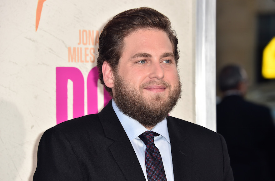 "Jonah Hill attending the premiere of Warner Bros. Pictures' ""War Dogs"" at TCL Chinese Theatre in Hollywood, Cali., Aug. 15, 2016. (Alberto E. Rodriguez/Getty Images)"