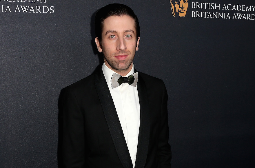 Simon Helberg attending the 2016 AMD British Academy Britannia Awards in Beverly Hills, Cali., Oct. 28, 2016. (Frederick M. Brown/Getty Images)