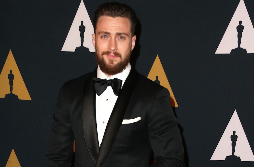 Aaron Taylor-Johnson attending the Academy of Motion Picture Arts and Sciences' 8th annual Governors Awards in Hollywood, Cali., Nov. 12, 2016. (Frederick M. Brown/Getty Images)