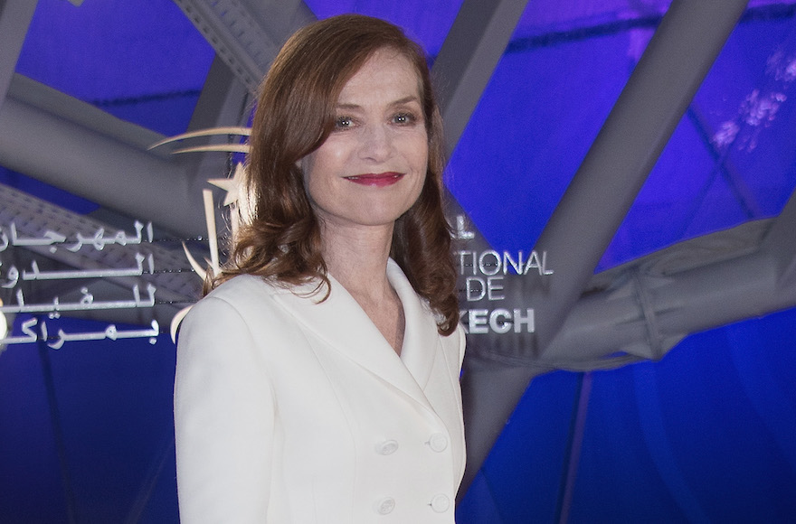 "Isabelle Huppert attending the ""Elle"" premiere during the16th Marrakech International Film Festiva in Marrakech, Morocco, Dec. 5, 2016. (Dominique Charriau/Getty Images)"