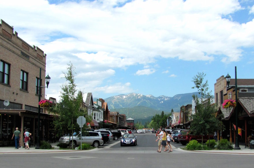 Downtown Whitefish, Mont. (twbuckner/Flickr, CC BY 2.0)