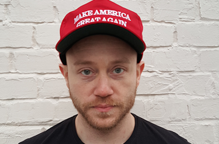 Andrew Anglin runs the anti-Semitic Daily Stormer website. (Wikimedia Commons)