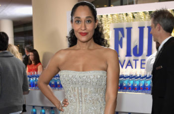 Actress Tracee Ellis Ross at the 74th annual Golden Globe Awards sponsored by FIJI Water at The Beverly Hilton Hotel in Beverly Hills, Calif., Jan. 8, 2017. (Charley Gallay/Getty Images for FIJI Water)