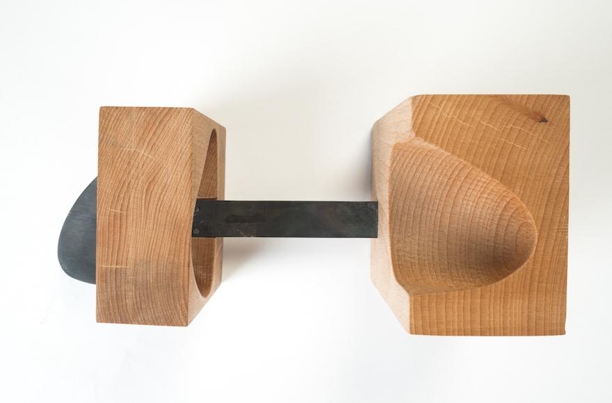 Hannah Zinger, Bauhaus Shoe (Tomer Fruchter)