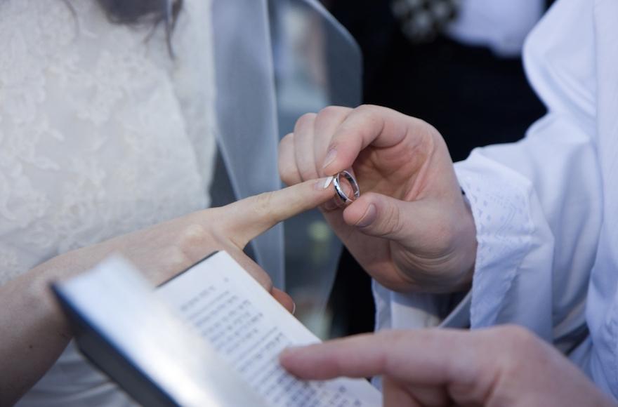 Ring Ceremony Jewish Wedding Wedding