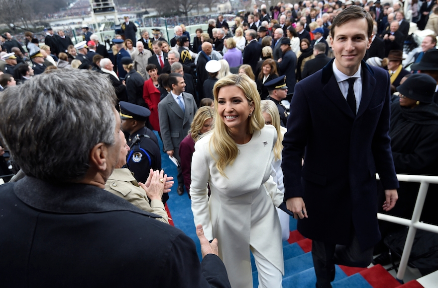 Ivanka Jared inauguration