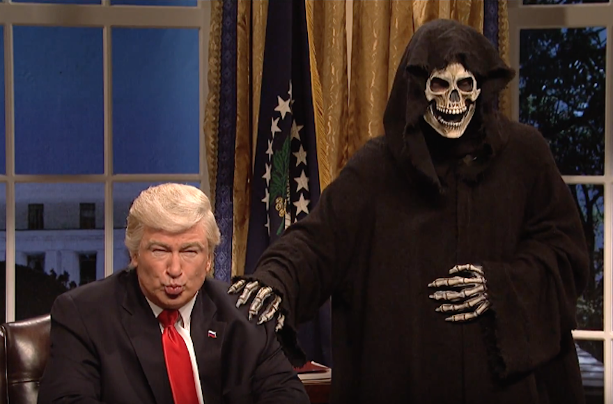 Jimmy Fallon Finally Kinda Addresses Rubbing Donald Trump on the Head