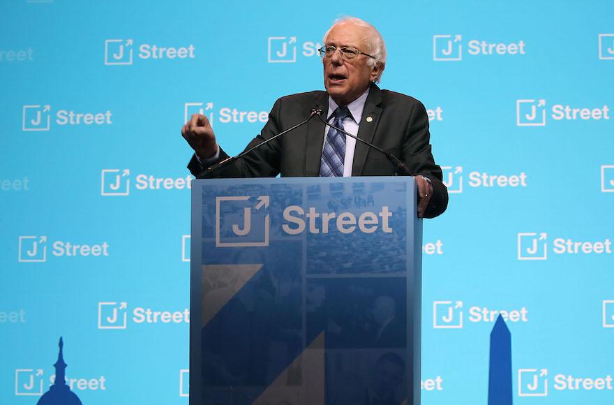 Bernie Sanders J Street