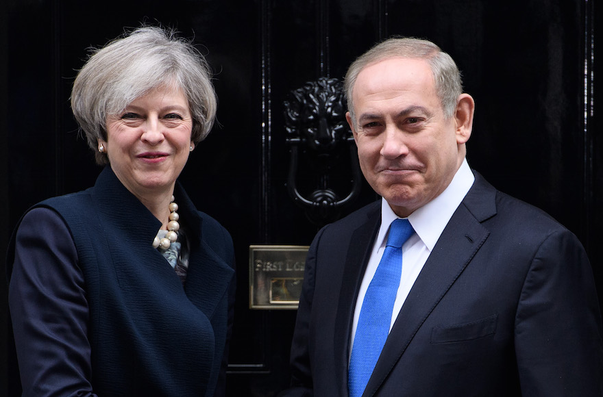 Netanyahu London