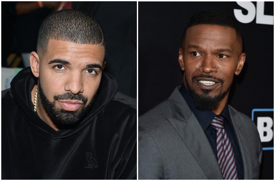 Drake and Jamie Foxx