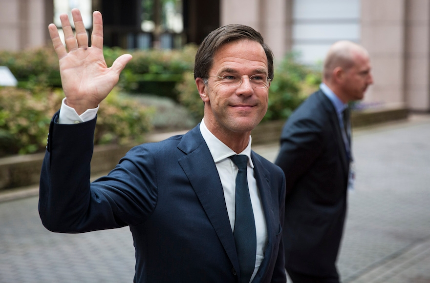 Dutch Prime Minister Mark Rutte at the Council of the European Union In Brussel, Oct. 20, 2016. (Jack Taylor/Getty Images)
