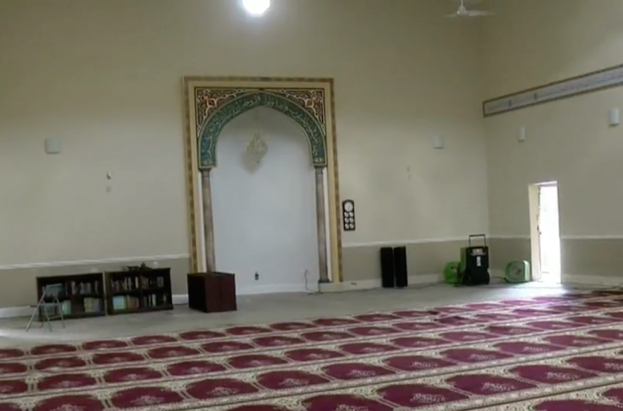 The Tampa Jewish community has raised nearly $60,000 to help repair a torched Mosque, surpassing their $40,000 goal in under a week.