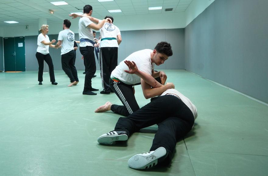 Krav Maga, an Israeli martial art, is trending in Paris