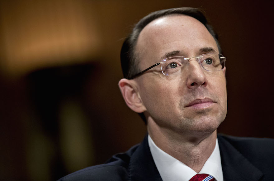 Image result for image of rod rosenstein