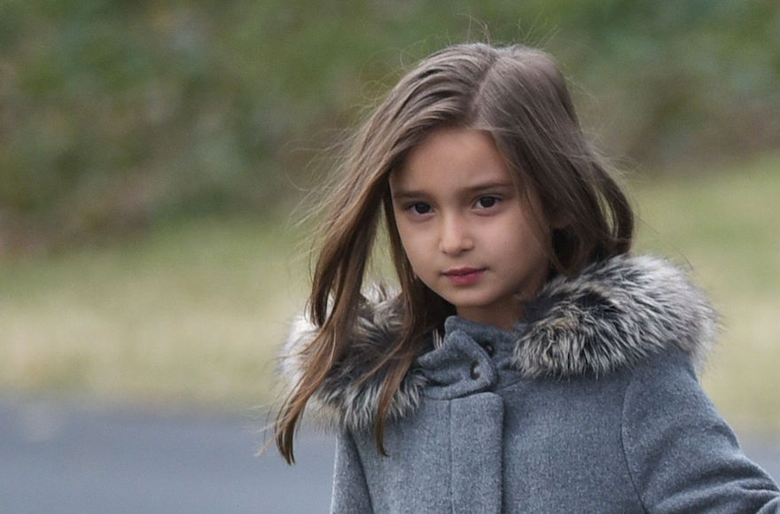 5-year-old Arabella Kushner loves Israel and wants to be a