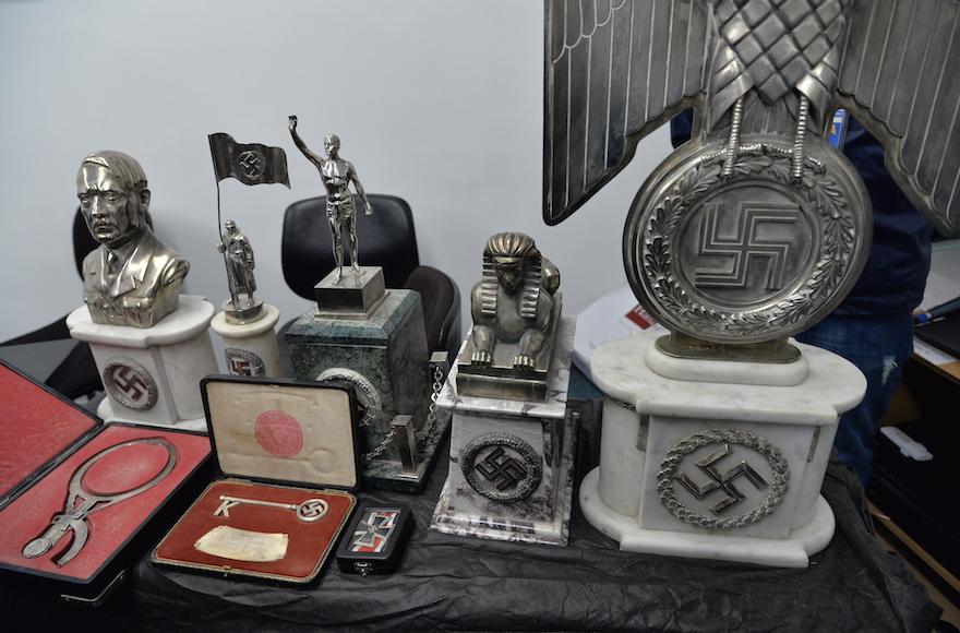 a trove of nazi era objects in argentina stuns