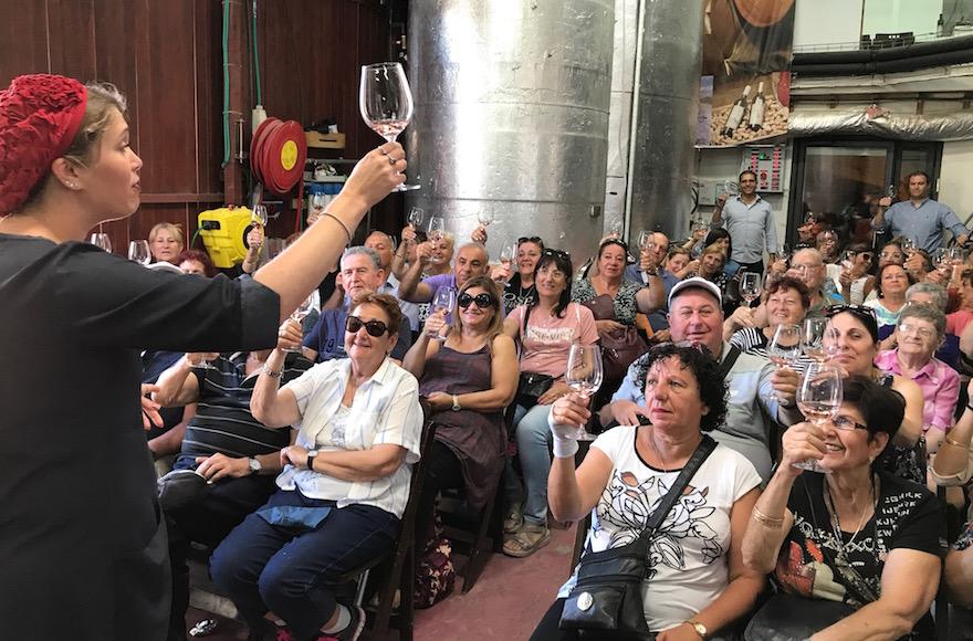 Psagot Winery Tour