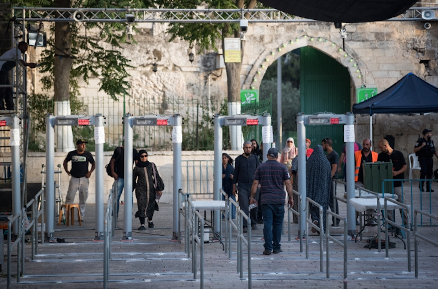 Jew Detector: Israel Agrees To Remove Metal Detectors At Temple Mount
