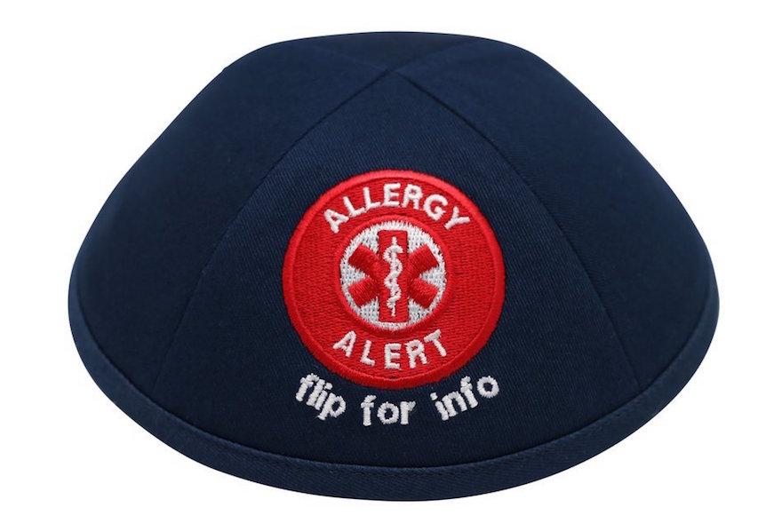 allergy kippah