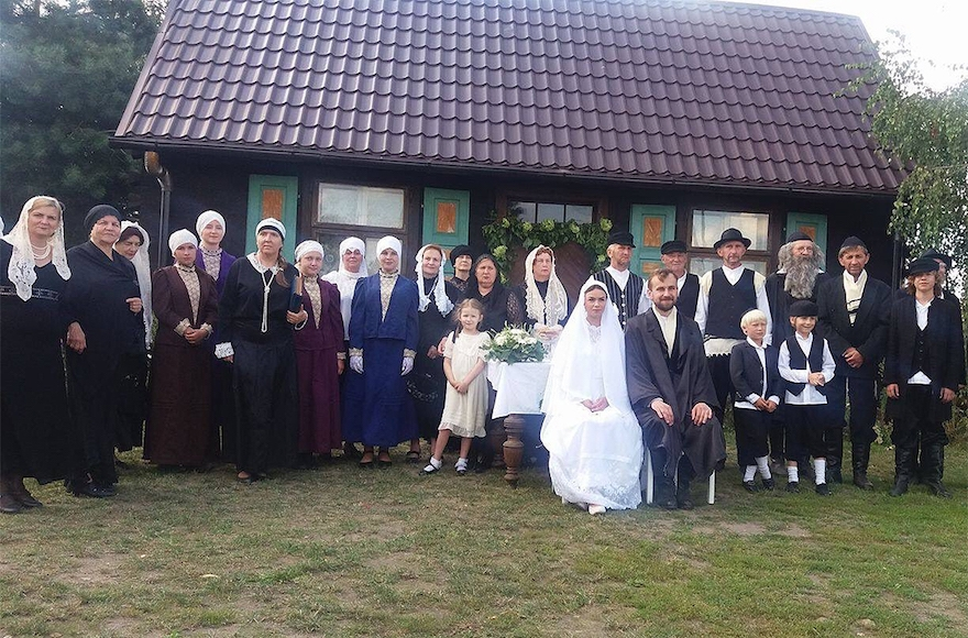 Polish Villagers Hold Jewish Wedding Without Jews