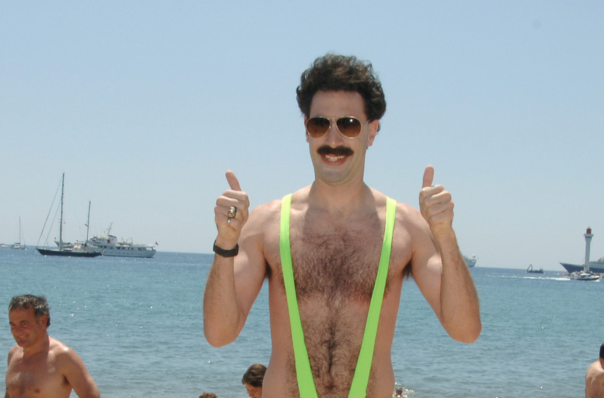 ea548ef61c1e1 Sacha Baron Cohen offers to pay tourists' mankini fines - Jewish ...