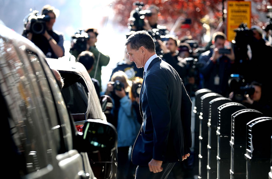Trump pardons Michael Flynn, whose lies to FBI included one about Israel