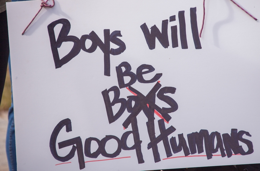 Boys will be <<good humans>>