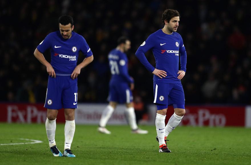 premium selection b9803 f18b4 Chelsea soccer fans chant anti-Semitic songs less than a ...