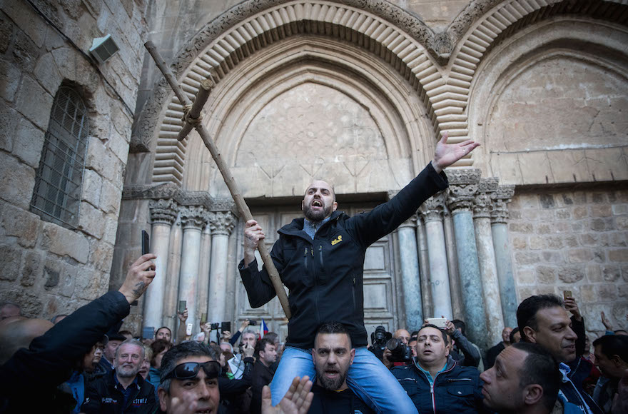 Jew Detector: Holy Christian Site In Jerusalem Opens After Protest By