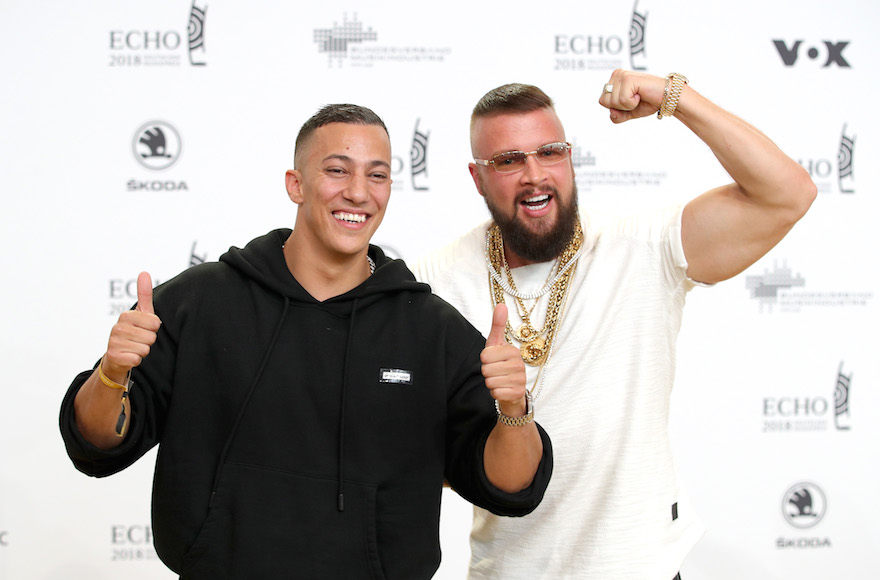 German rappers who boast their bodies are 'more defined than