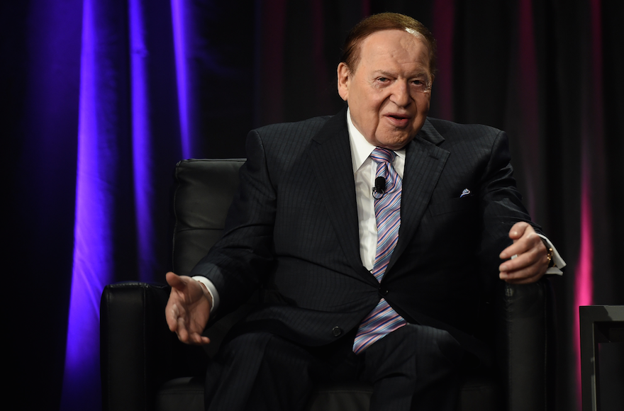 President Trump reportedly lashed out at Sheldon Adelson, one of his biggest donors