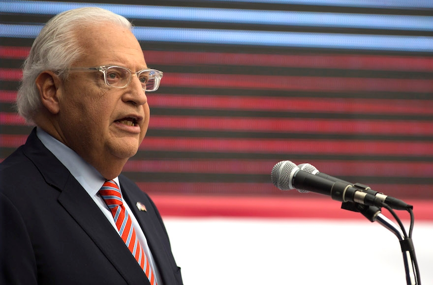 David Friedman tells the media to keep their 'mouths shut' about Israel. But what did they actually say?