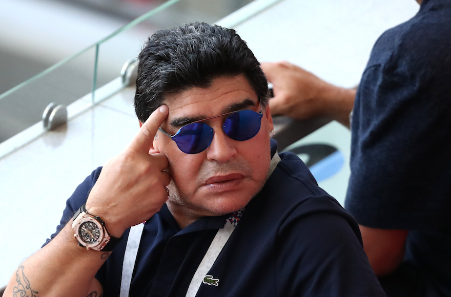 Diego Maradona's death spurs tribute from fellow Argentine and namesake Diego Schwartzman