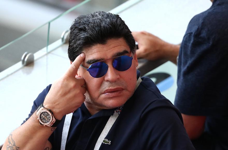 Diego Maradona's death spurs tribute from fellow Argentine and namesake Diego Schwartzman
