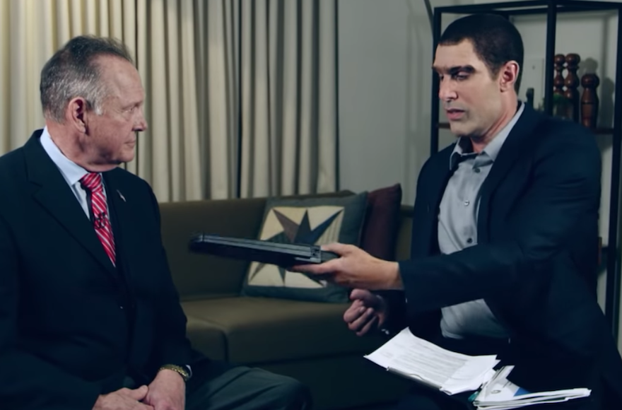 Roy Moore's lawsuit against Sacha Baron Cohen can proceed, judge rules