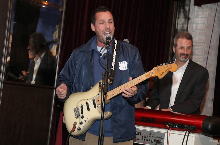 Adam Sandler's 'Bar Mitzvah Boy' song is the highlight of