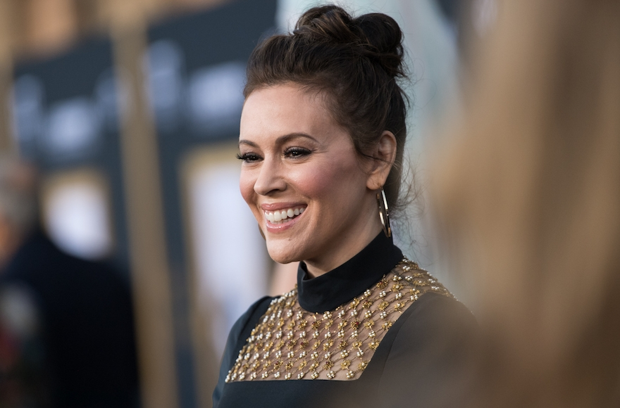 Actress Alyssa Milano won?t speak at Women?s March unless its leaders condemn Farrakhan