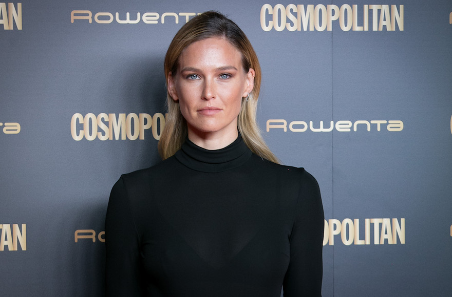 bar refaeli slammed for ad that shows her taking off a muslim face