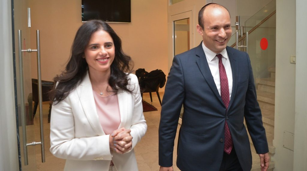 Naftali Bennett, Ayelet Shaked call for recount of soldiers' votes after party falls just short of Knesset seats