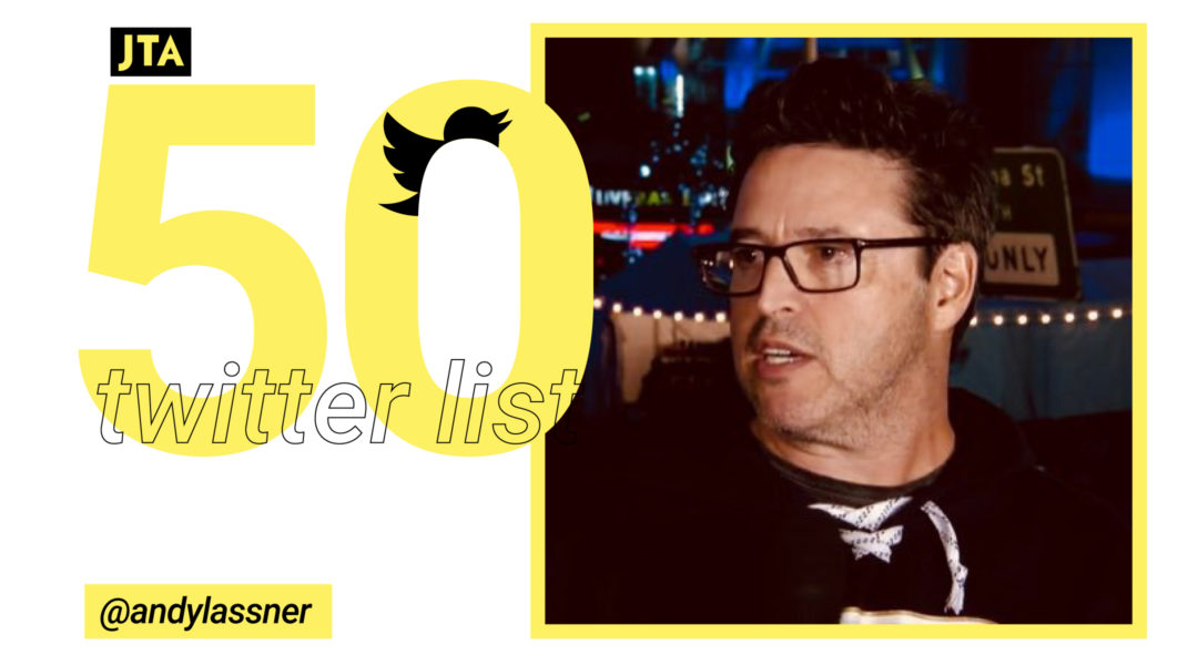 Jta Twitter 50 Andy Lassner Jewish Telegraphic Agency Medias and tweets on @andylassner ( andy lassner )' s twitter profile.los angeles. jta twitter 50 andy lassner jewish
